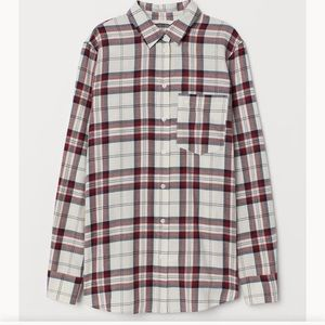 LIKE NEW🌲Plaid H&M Longsleeve Button Down